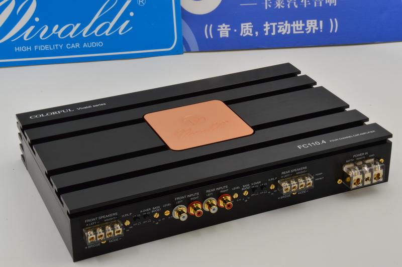 卡莱FC110.4  四声道功放