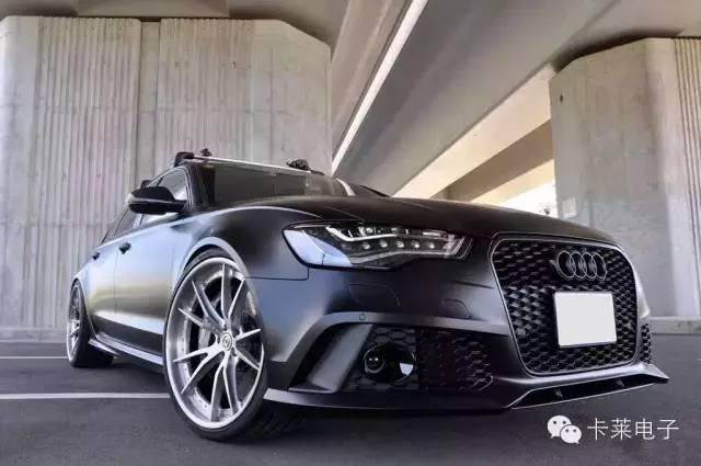 【卡莱维尔帝DSP】众星拱月仍无损高能风采-Audi A6L